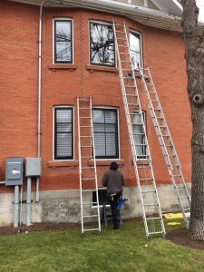 Gutter Cleaning in Banff, Alberta by Wipe Clean