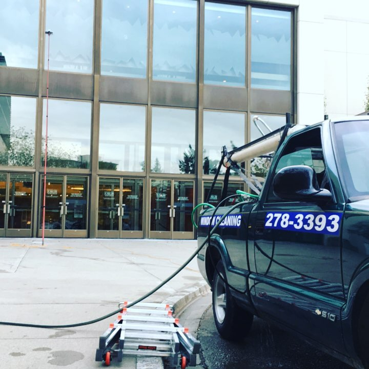 Power Washing in Banff, Alberta by Wipe Clean