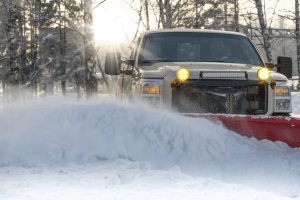 Snow Removal in Okotoks, Alberta by Wipe Clean