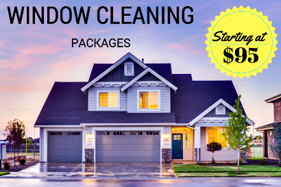 Window Cleaning Packages in Calgary, AB